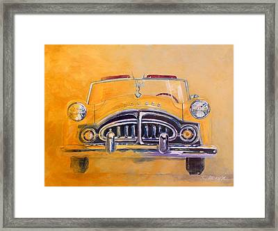 1951 Packard Clipper Framed Print by Ron Patterson