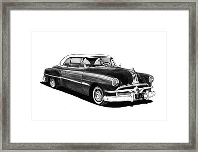 1951 Pontiac Hard Top Framed Print by Jack Pumphrey