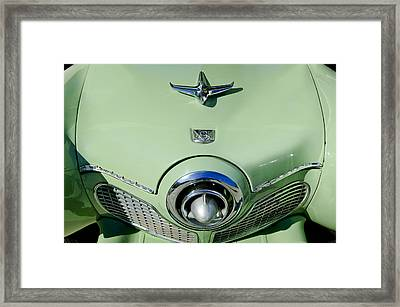 1951 Studebaker Commander Hood Ornament 2 Framed Print by Jill Reger