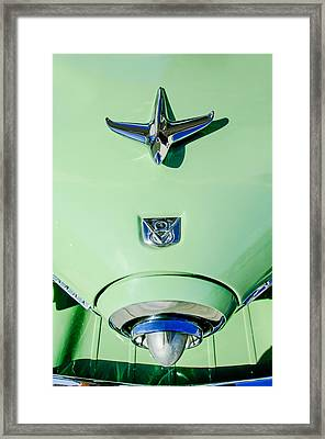 1951 Studebaker Commander Hood Ornament Framed Print by Jill Reger