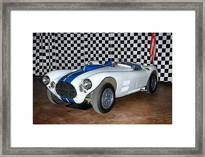 Framed Print featuring the photograph 1952 Cunningham C4r by Boris Mordukhayev