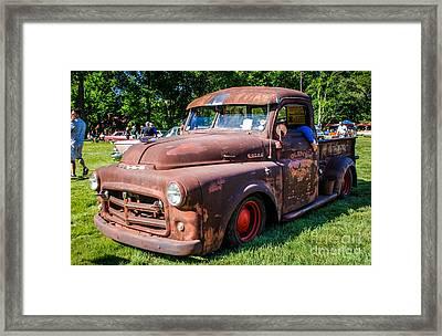 1952 Dodge Pickup Framed Print