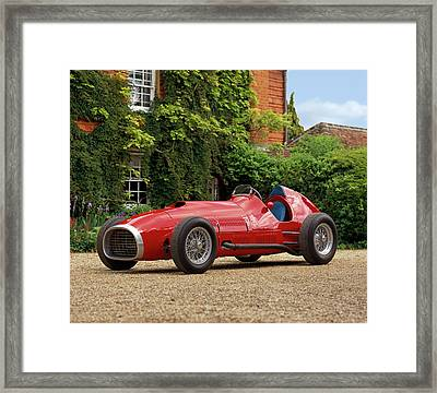 1952 Ferrari 375 Indianapolis Formula Framed Print by Panoramic Images