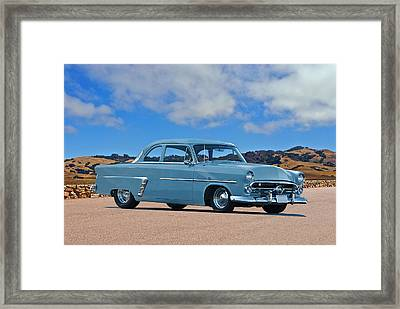 1952 Ford Customline Coupe Framed Print by Dave Koontz