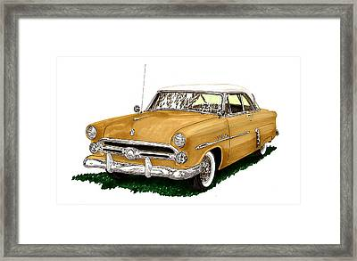1952 Ford Victoria Framed Print by Jack Pumphrey