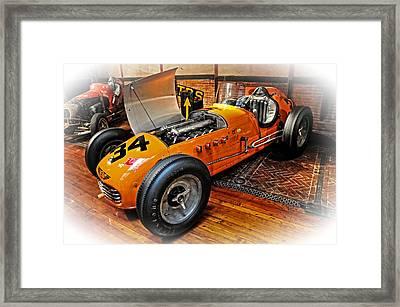 1952 Indy 500 Roadster Framed Print