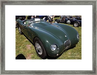1952 Jaguar Xk120 Roadster 5d22967 Framed Print by Wingsdomain Art and Photography