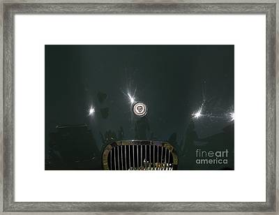 1952 Jaguar Xk120 Roadster 5d22968 Framed Print by Wingsdomain Art and Photography