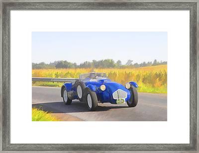 1953 Allard J2x Roadster Framed Print