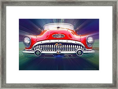 1953 Buick Roadmaster Framed Print by Ed Dooley
