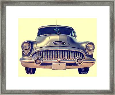 1953 Buick Roadmaster Framed Print by Edward Fielding
