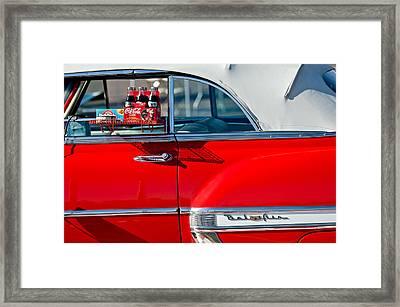 1953 Chevrolet Belair Convertible Framed Print