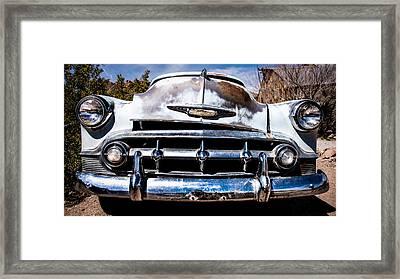 1953 Chevy Bel Air Framed Print