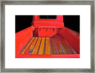 1953 Chevy Pick-up Framed Print by Dave Koontz
