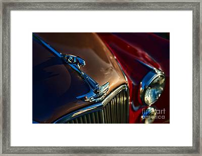 1953 Jaguar Mk7 Framed Print by Paul Ward