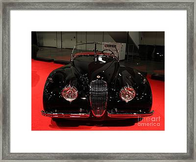 1953 Jaguar Xk 120 Se Roadster - 5d19930 Framed Print by Wingsdomain Art and Photography