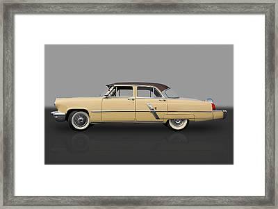 1953 Lincoln Framed Print by Frank J Benz