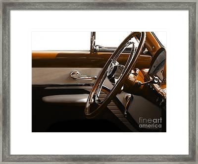 1953 Mercury Bucket  Framed Print by Steven  Digman