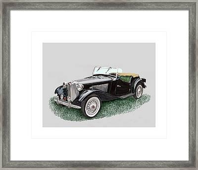 Mg T D 1953 Framed Print