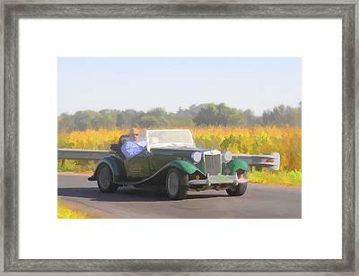 1953 Mg Td Framed Print