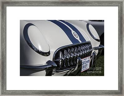 1953 Nascar Corvette Framed Print by Dennis Hedberg