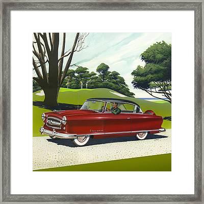 1953 Nash Rambler - Square Format Image Picture Framed Print