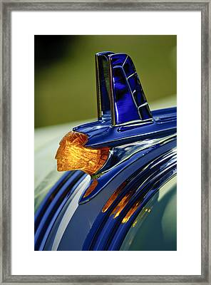1953 Pontiac Hood Ornament 3 Framed Print by Jill Reger