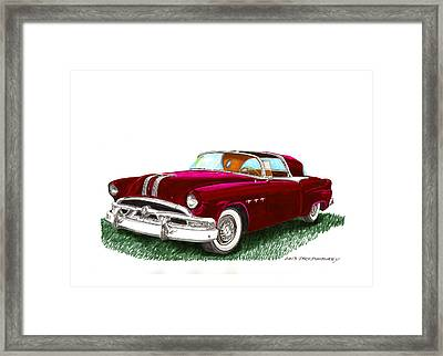 1953 Pontiac Parisienne Concept Framed Print