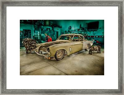 1953 Studebaker Hawk Framed Print by Yo Pedro