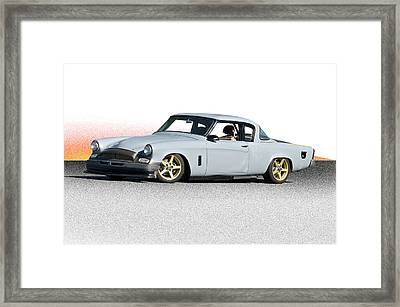 1953 Studebaker 'in Process Primer' Framed Print by Dave Koontz