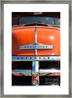 1954 Chevrolet 3100 Pickup Framed Print