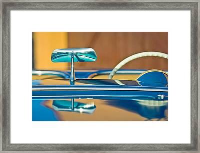 1954 Chevrolet Corvette Steering Wheel -311c Framed Print