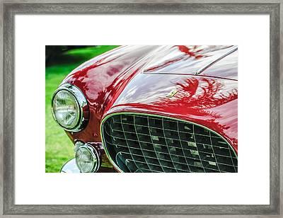 1954 Ferrari Europa 250 Gt Grille -1336c Framed Print