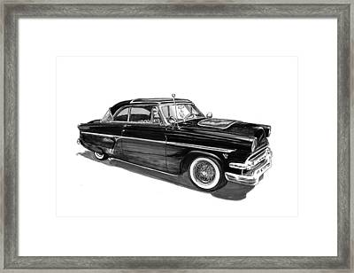 1954 Ford Skyliner Framed Print by Jack Pumphrey