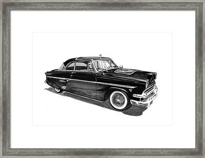 1954 Ford Skyliner Framed Print by Jack Pumphrey