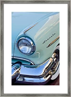 1954 Lincoln Capri Headlight Framed Print