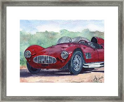 1954 Maserati A6 Gsc Tipo Mm Framed Print