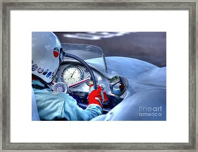 1954 Mercedes-benz W196  Framed Print by J A Evans