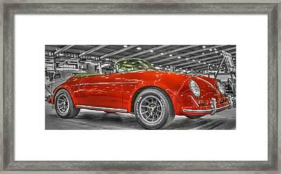 1954 Porsche 356 Speedster  Framed Print