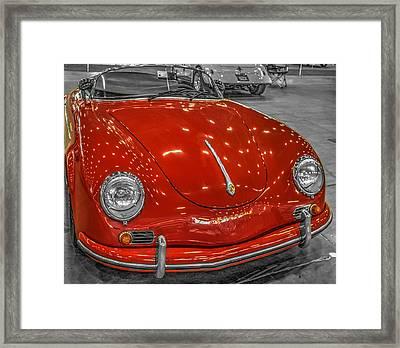 1954 Porsche 356 Speedster V2 Framed Print