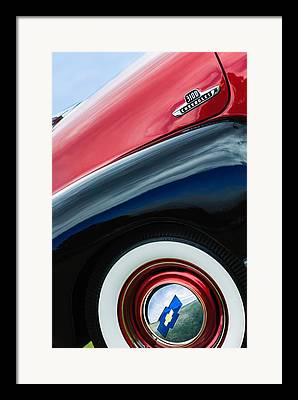 Chevy 3100 Framed Prints