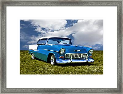 1955 Chevrolet Bel Air Framed Print