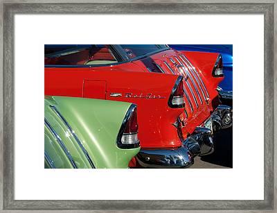 1955 Chevrolet Belair Nomad Taillights Framed Print by Jill Reger