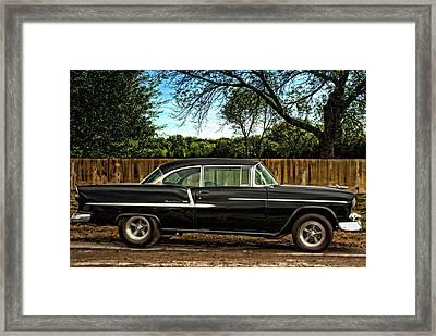 1955 Chevrolet Belair Framed Print by Tim McCullough
