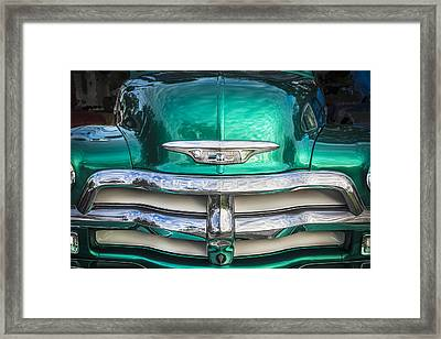1955 Chevrolet First Series Framed Print