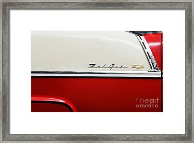 1955 Chevrolet Sport Coupe Framed Print by Tim Gainey