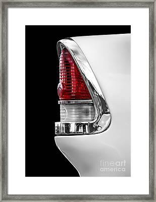 1955 Chevy Rear Light Detail Framed Print