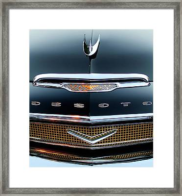 1956 Desoto Hood Ornament 2 Framed Print by Jill Reger