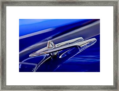 1955 Desoto Hood Ornament 3 Framed Print by Jill Reger