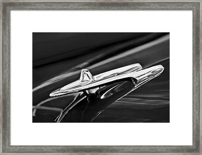 1955 Desoto Hood Ornament 4 Framed Print by Jill Reger